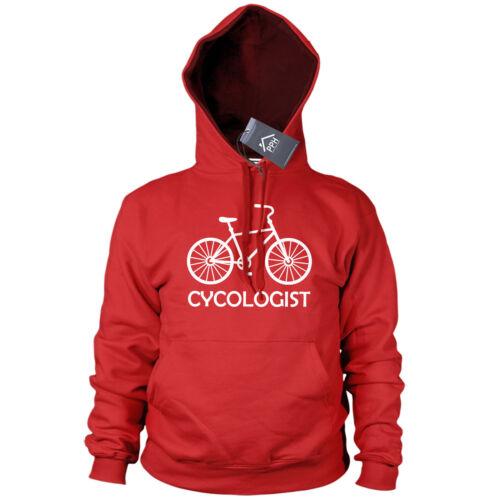 Cycologist Cycle Tshirt Funny Hoodie Gift Bike BMW Mountain Top Hoody Sweat 504