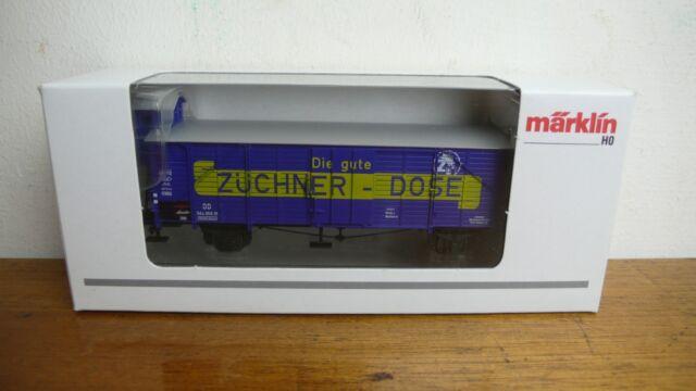 H0 Märklin 46159 Insider Vagón Anual 2000 Züchner-dose Vagón de Mercancía, Nuevo