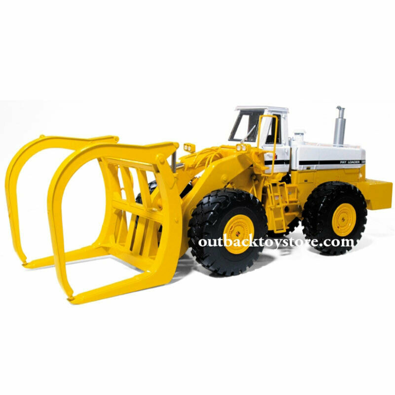 1  25 International 560 Pay Loader med Log Fork Hi -Detail 40 -0121 First Gear NEW