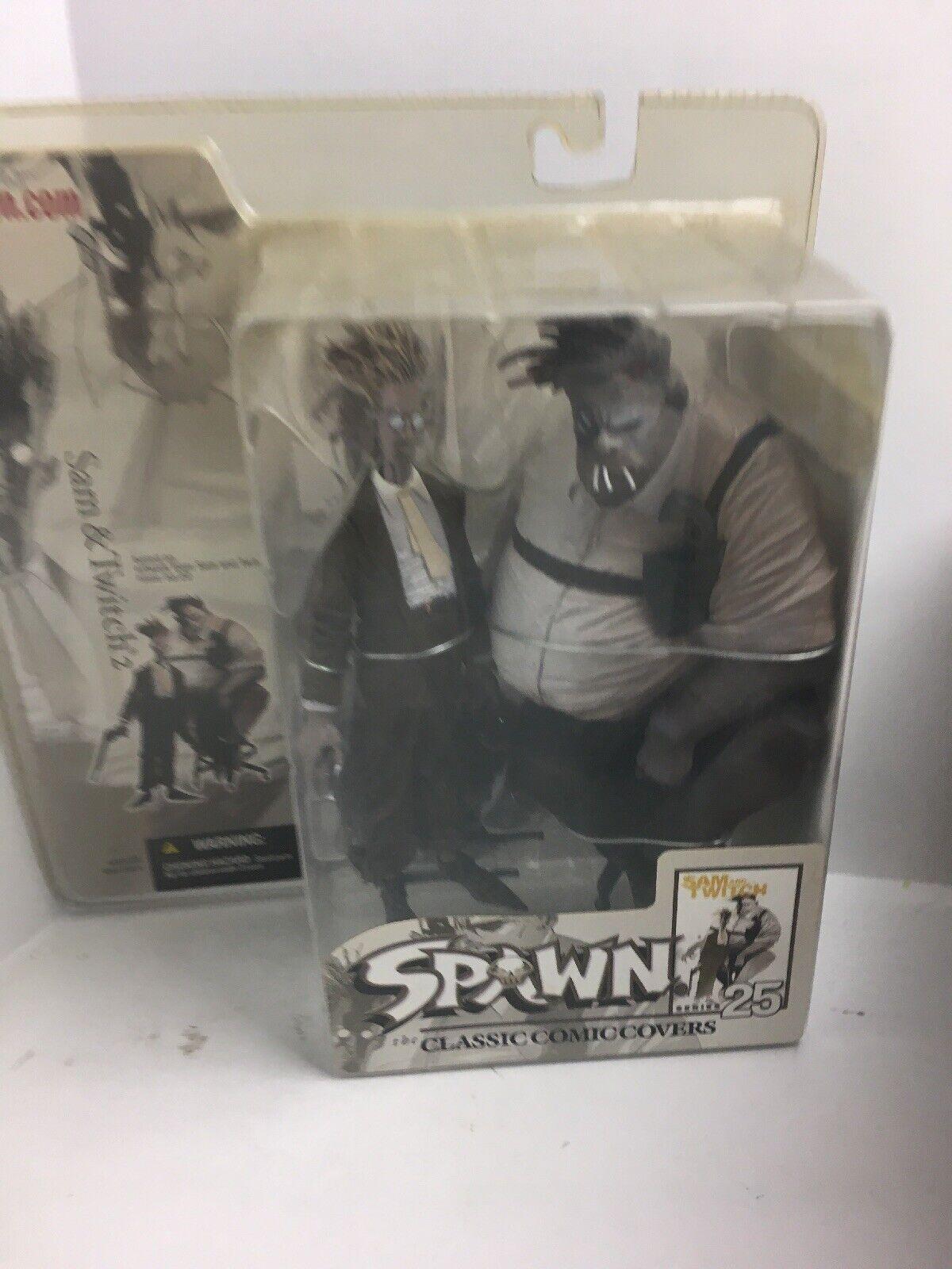 McFarlane giocattoli Sam e Twitch Spawn 25 azione cifra with 3 Cigarettes Variant