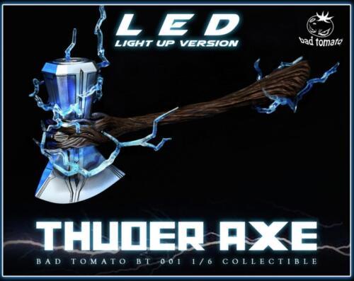 1//6 THOR Stormbreaker Thuder Axe With LED Light Up FOR HOT TOYS PHICEN BT001
