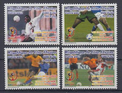 1278-1281 Postfrisch/** Liberal Elfenbeinküste - Michel-nr cote D´ivoire fußball Wm