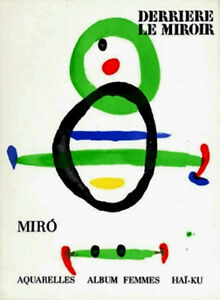 MIRO-LITHOGRAPHS-1967-Joan-Miro-litografo-JOAN-MIRO-litografias-VERY-RARE-ART