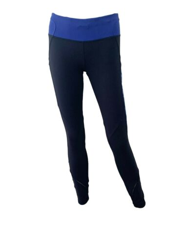 Lululemon Navy Blue Mid Rise Leggings Size 6 Skinn