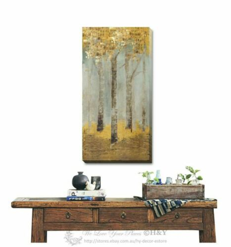Tree Stretched Canvas Print Framed Wall Art Hanging Painting Home Decor Deco F82