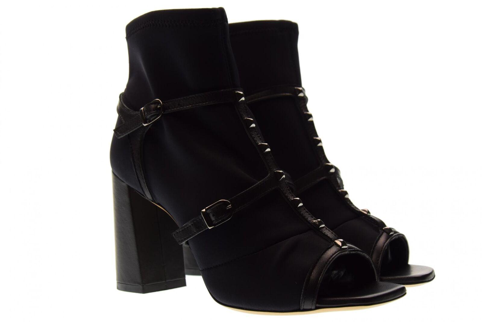 Grandes zapatos con descuento Ovye scarpe donna stivaletto spuntato SG4012 NERO P18