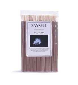 Bakhoor-Woody-8-034-Incense-Joss-Sticks-Agarbatti-Long-Burning-x-100-by-Saysell