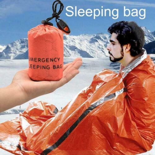 Outdoor Emergency Sleeping Bag Thermal Waterproof Survival Waterproof HOT