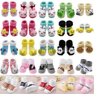Baby-Cartoon-Cotton-Sock-Newborn-Floor-Wear-Anti-Slip-Shoes-Clothing-Socks-Suit