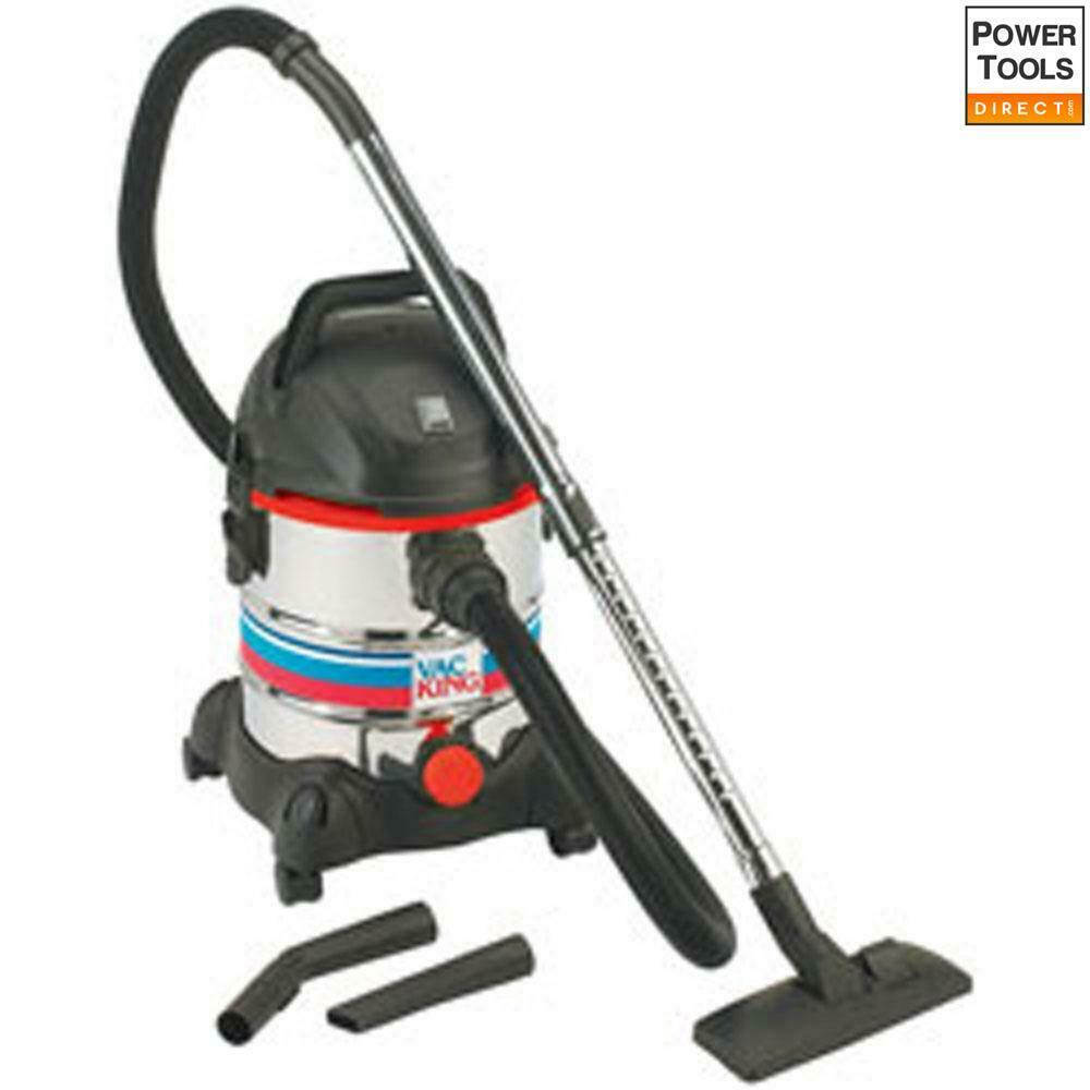 Clarke CVAC25SS Vac King 240V 1400W Wet & Dry Dust Extractor