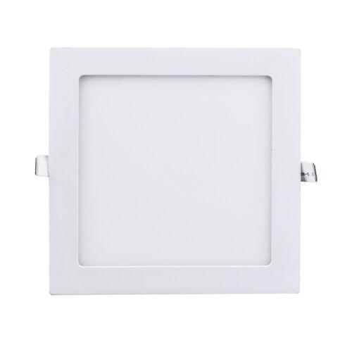 6W 9W 12W 15W 18W LED Recessed Ceiling Panel Down Lights Bulb Slim Lamp Fixture