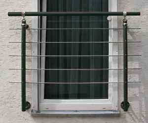 Franzosischer Balkon Alu Gelander Anthrazit 1 5 M Gelander