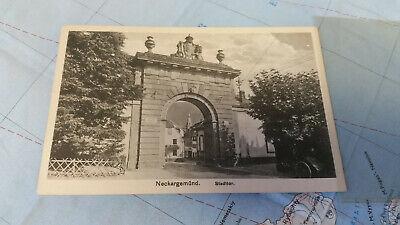 Deutschland Baden-württemberg Neckargemünd Stadttor Ak Postkarte 12122 Hohe QualitäT Und Preiswert