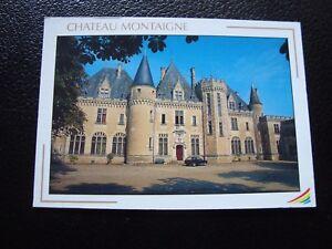 Francia-Tarjeta-Postal-Castillo-Montana-Gironde-B10-Francesa