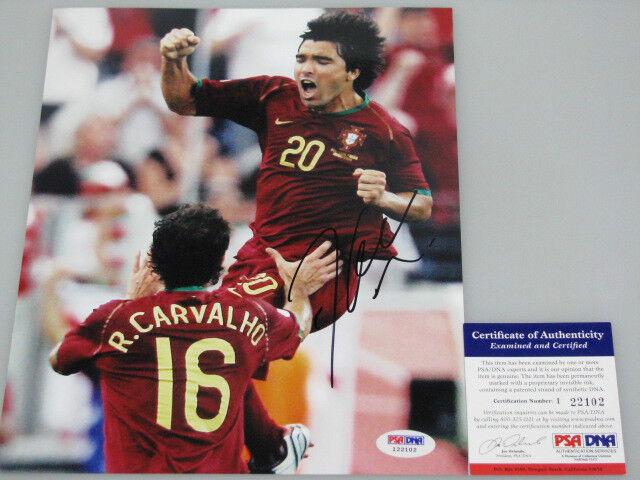 DECO Portugal Hand Hand Hand Signed 8'x10' Photo + PSA DNA COA I22102 c896a9