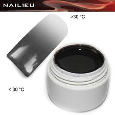 UV Thermogel 08 Anthrazit - hell-grau 5ml/ Farb-Gel Colorgel Thermo-Gel Farbgel