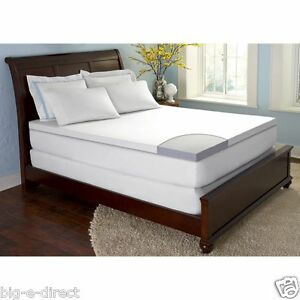 ComforZen-GelFuse-Gel-Memory-Foam-2-5-034-Mattress-Topper-Pad-TWIN-FULL-QUEEN-KING