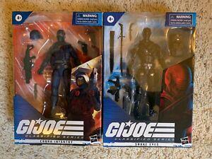 G.I. Joe classified 6 inch Cobra Infantry Snake Eyes