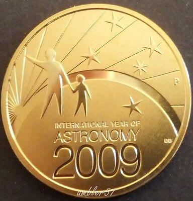 "**2009  Australian /""International Year of Astronomy/"" $1 UNC**"