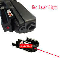 Red Dot Laser Sight Picatinny Weaver Rail Mount For Pistol Gun Compact hunt