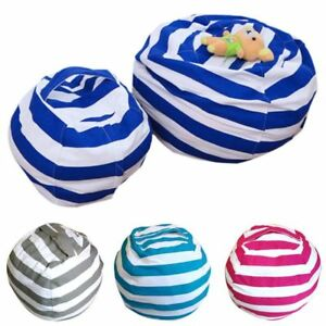 UK-Stock-Stuffed-Animal-Toy-Storage-Bean-Bag-Cover-Kids-Bean-Bag-Chairs-Gifts