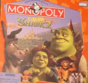 Monopoly: shrek collector's edition new.