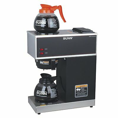 Commercial Coffee Maker Brewer Machine Restaurant Office 12 Cup 2 Pot Portable 793842007305 Ebay
