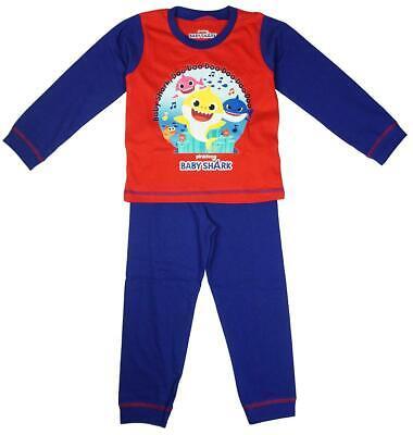 Boys Official Pinkfong Baby Shark Sing Doo Pyjamas