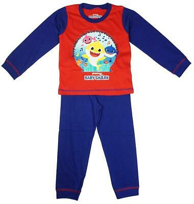 pjs Shortie Pink fong Baby Shark DOO DOO Short Pyjamas