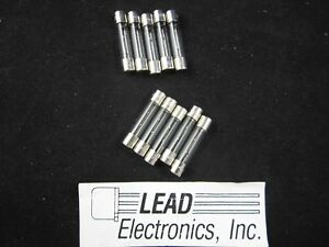 Fuse 3A Glass  6mm x 30mm 10x