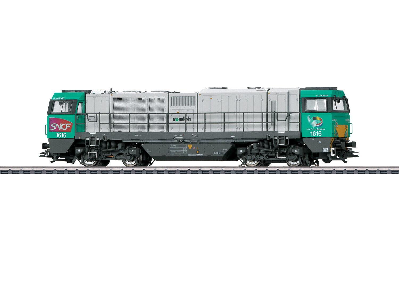 Märklin 37209 Locomotiva Diesel Vossloh G 2000 Bb Der SNCF Mfx + Sound Metallo