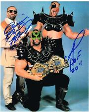 WWE NWA ROAD WARRIOR ANIMAL PAUL ELLERING LEGION OF DOOM 8X10 PHOTO AUTOGRAPH