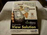 The Ultimate Pda View Solution Handstory Suite 2.3 For Palm & Pocket Pc's
