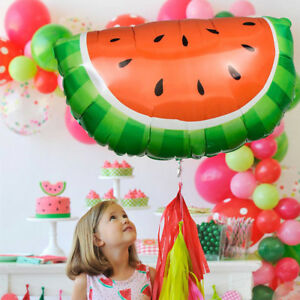 "32/"" Watermelon Shape Mylar Foil Balloon Party Decorating Supplies"
