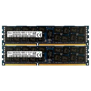 Pc3-10600-2x16gb-HP-ProLiant-sl335s-sl390s-bl685c-g7-dl1000-Arbeitsspeicher-RAM