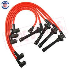 Spark Plug Wire Set For HONDA ACCORD CIVIC DEL SOL 92-00 EG EK EJ D15/D16 NEW