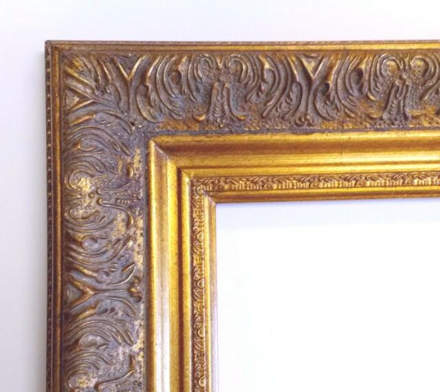 Picture Frame 11x14 Vintage Antique Style Ornate Gold Classic