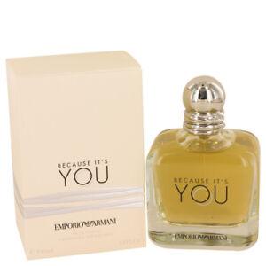 Because Its You By Emporio Armani Eau De Parfum 34 Fl Oz 100 Ml