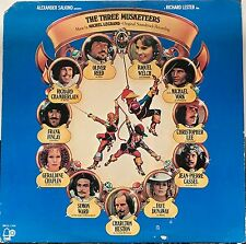 THE THREE MUSKETEERS -BELL Records- Movie Soundtrack LP Michel Legrand 1974