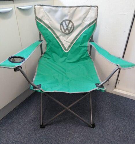 New Volkswagen Campervan Green Folding Chair VW
