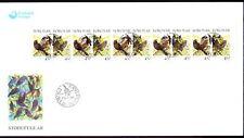 Färöer 1998 FDC Mi.332/33 Tiere Animals | Vögel Birds | Amsel & Star