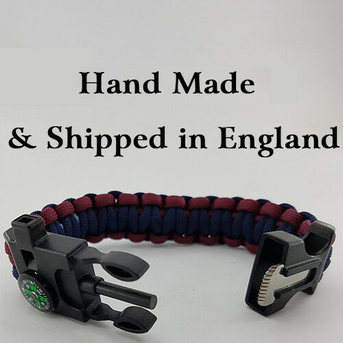 Tactical Supply Wing TSW Badged Survival Bracelet Tactical Edge.