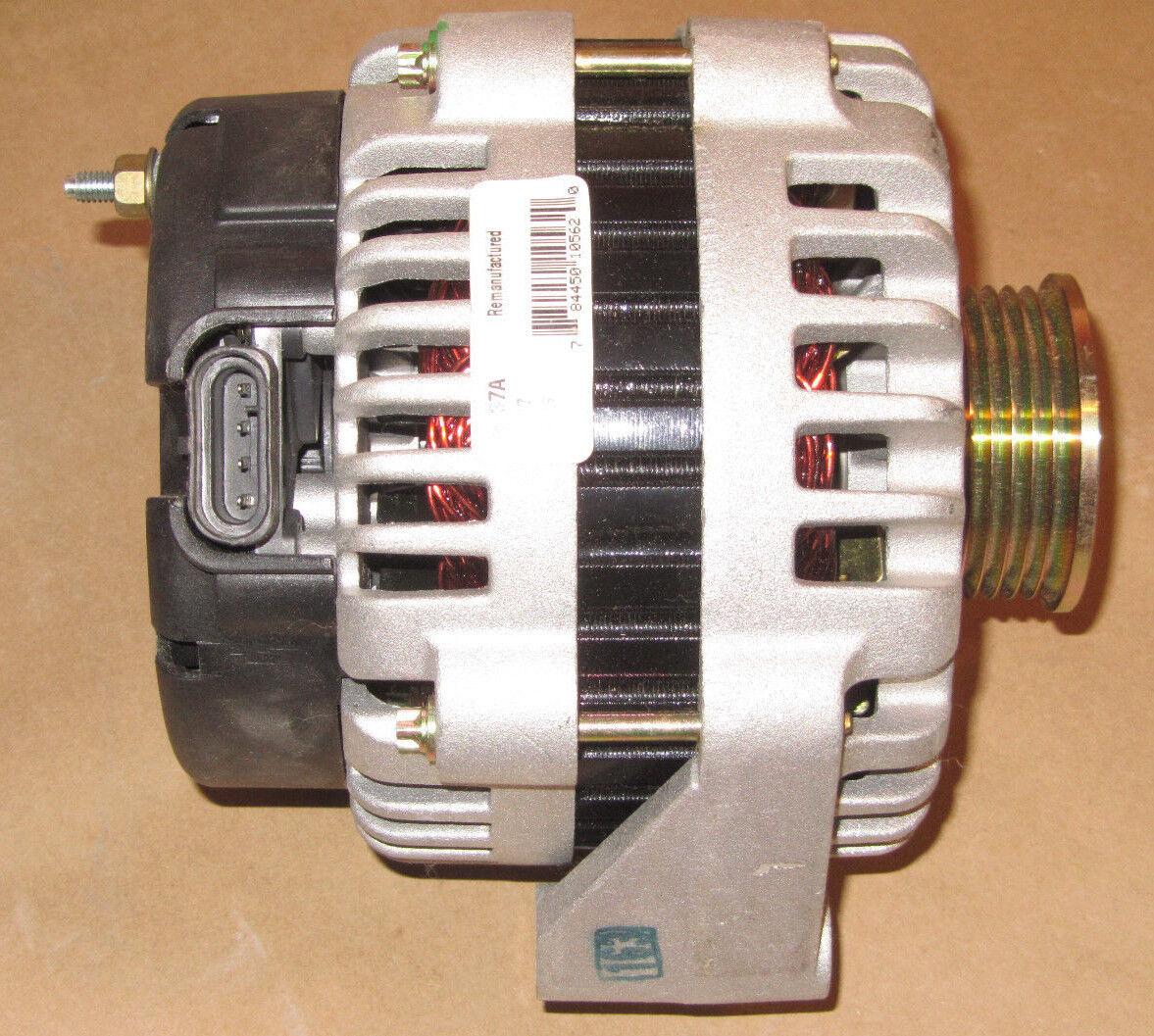 8237 ALTERNATOR CADILLAC AND GMC 5.3 //145 AMP//6-GROOVE PUL CHEVY SILVERADO 1500