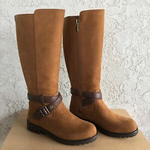 UGG Harington Water-resistant Chestnut Leather Riding Tall ...
