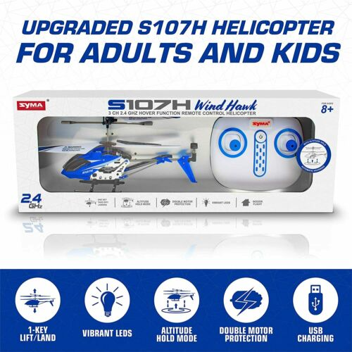 Remote Control Helicopter w// Altitude Hold Indoor RC Helicopter GIFT FOR KIDS