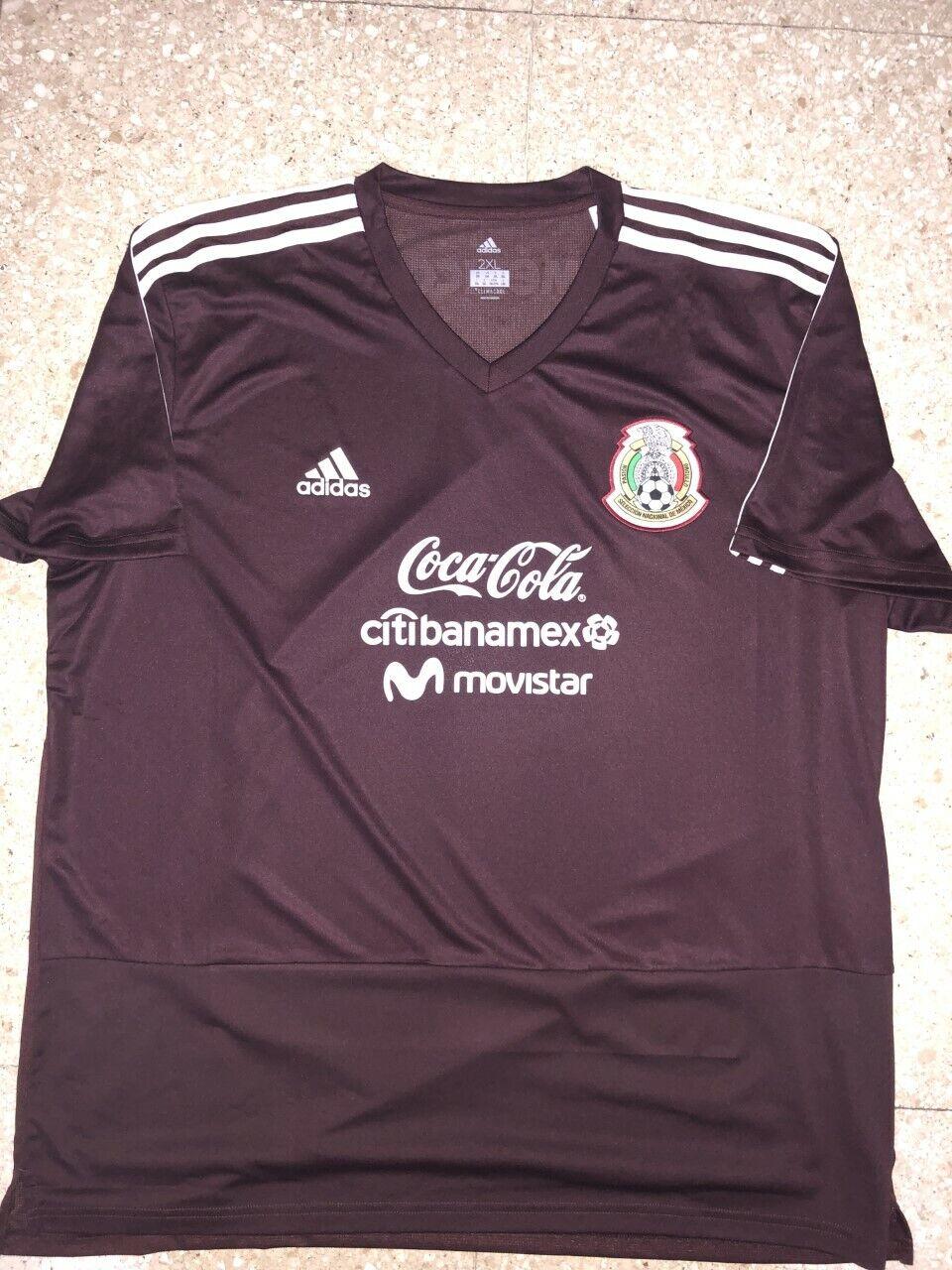 Camisa De Entrenamiento De México reproductor edición 2018 -2019 tamaño 2XL