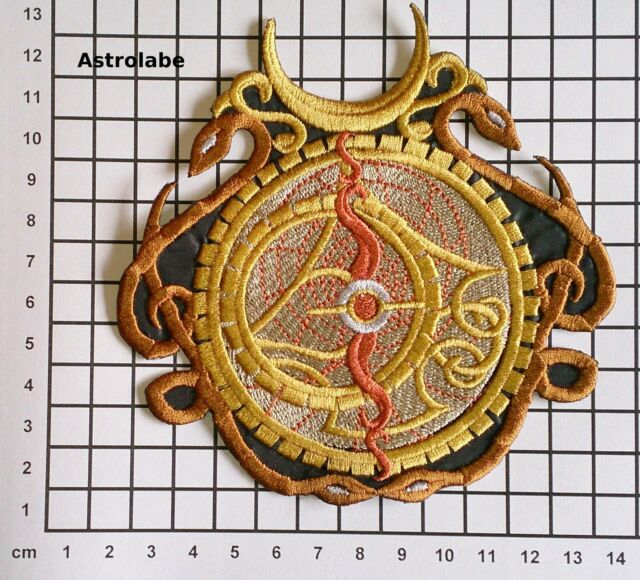 Embroidered Steampunk Alchemy Motif / Patch / Badge / Applique - Lots of designs