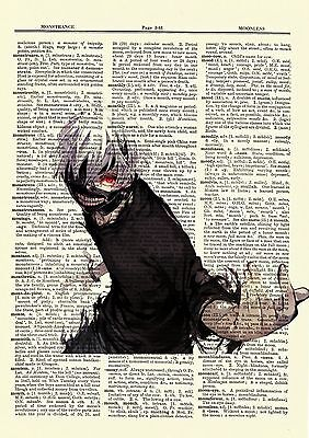 Uta Tokyo Ghoul Anime Dictionary Art Print Poster Picture Book Japanese Manga