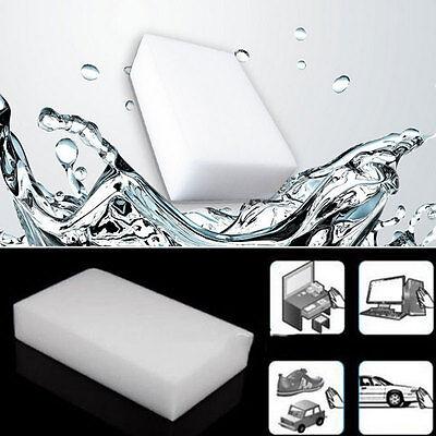 10PCS Cleaning Magic Sponge Eraser Melamine Cleaner Multi-functional Foam White