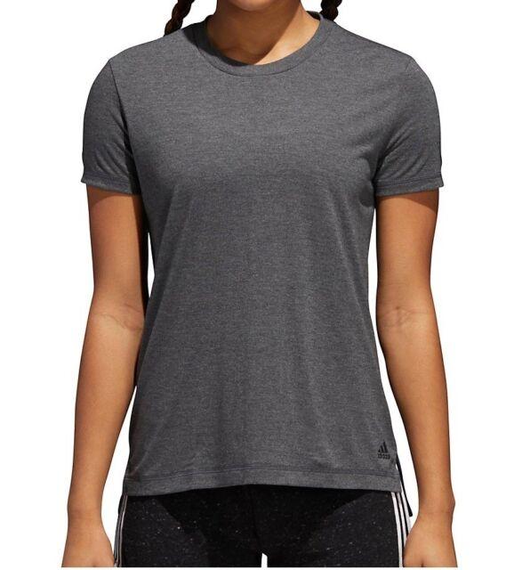 e2a06ecd7385 adidas Women s Yola Short Sleeve Crew Neck T-shirt Cw2311 Black XS ...